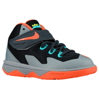 Nike Soldier VIII - Boys' Toddler -  LeBron James - Grey / Light Blue