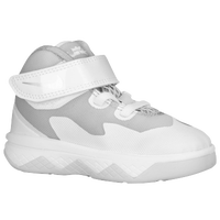 Nike Soldier VIII - Boys' Toddler -  Lebron James - White / Silver