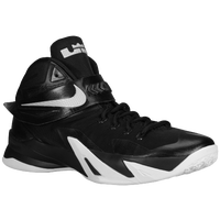 Nike Zoom Soldier VIII - Men's -  Lebron James - Black / White
