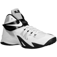 Nike Zoom Soldier VIII - Men's -  Lebron James - White / Black