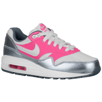 Nike Air Max 1 - Girls' Grade School - White / Pink