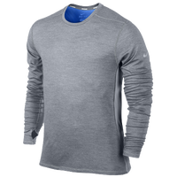 Nike Dri-FIT Wool Crew - Men's - Grey / Grey