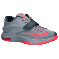 Nike KD 7 - Men's -  Kevin Durant - Grey / Red