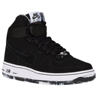 Nike Air Force 1 High - Boys' Grade School - Black / White