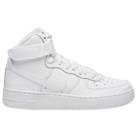 Nike Air Force 1 High - Boys' Grade School - All White / White
