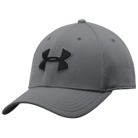 Under Armour Blitzing II Stretch Fit Cap - Men's - Grey / Black