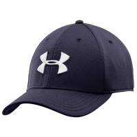 Under Armour Blitzing II Stretch Fit Cap - Men's - Navy / White