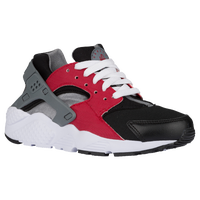 Nike Huarache Run - Boys' Grade School - Black / Red