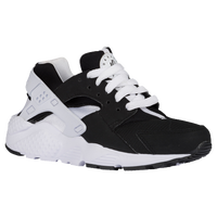 Nike Huarache Run - Boys' Grade School - Black / White