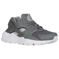 Nike Huarache Run - Boys' Grade School - Grey / White