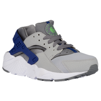 Nike Huarache Run - Boys' Grade School - Grey / Light Green