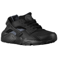 Nike Huarache Run - Boys' Grade School - Black / Grey