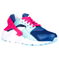 Nike Huarache Run - Girls' Grade School - Navy / Light Blue