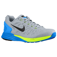 Nike LunarGlide 6 - Men's - Grey / Light Blue