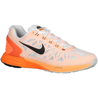 Nike LunarGlide 6 - Men's - White / Orange