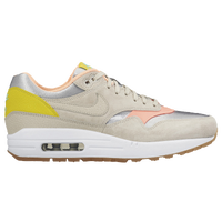 Nike Air Max 1 - Women's - Silver / Tan