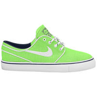 Nike SB Stefan Janoski - Boys' Grade School - Light Green / White