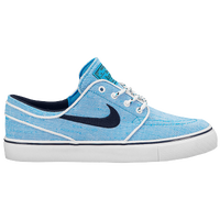 Nike SB Stefan Janoski - Boys' Grade School - Light Blue / Navy