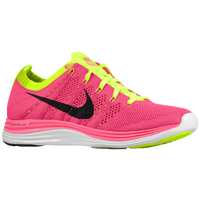 Nike Flyknit Lunar 1 + - Women's - Pink / Light Green