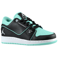 Jordan 1 Flight 2 Low - Girls' Grade School - Black / White