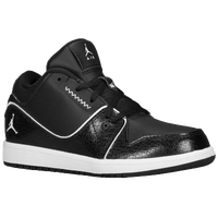 Jordan 1 Flight 2 Low - Boys' Preschool - Black / White