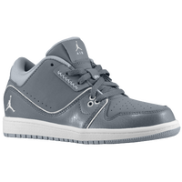 Jordan 1 Flight 2 Low - Boys' Preschool - Grey / White