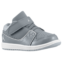 Jordan 1 Flight 2 Low - Boys' Toddler - Grey / White