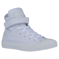 Converse All Star Hi - Women's - All White / White