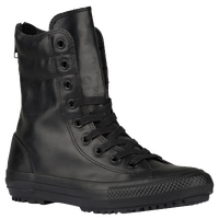 Converse All Star Hi-Rise Boot - Women's - All Black / Black