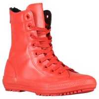 Converse All Star Hi-Rise Boot - Women's - Red / Red