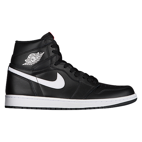 Jordan Retro 1 High OG - Men\u0026#39;s - Black / White