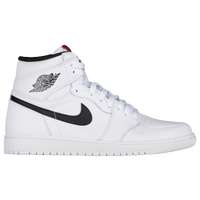 Jordan Retro 1 High OG - Men's - White / Black