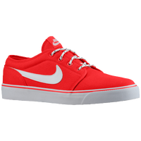 Nike Toki Low TXT - Men's - Red / White