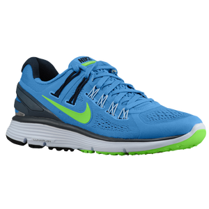 Nike LunarEclipse + 3 - Women's - Distance Blue/Armory Navy/Flash Lime/Silver