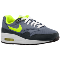 Nike Air Max 1 - Boys' Grade School - Grey / White
