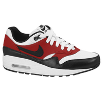 Nike Air Max 1 - Boys' Grade School - White / Red