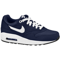Nike Air Max 1 - Boys' Grade School - Navy / White