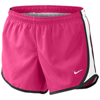 Nike Tempo Shorts - Girls' Grade School - Pink / White