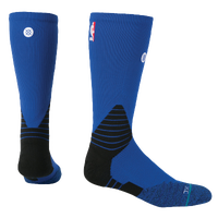 Stance NBA On Court Solid Crew Socks - NBA League Gear - Blue / Black