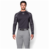Under Armour Leadoff II Piped Pant - Men's - Grey / Black