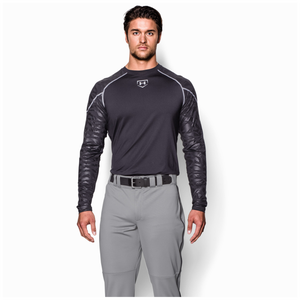 Under Armour Leadoff II Piped Pant - Men's - Baseball Grey/Black