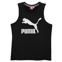 PUMA Heritage #1 Logo Tank - Men's - Black / White