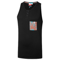 PUMA Dip Dye Tank - Men's - Black / Light Blue