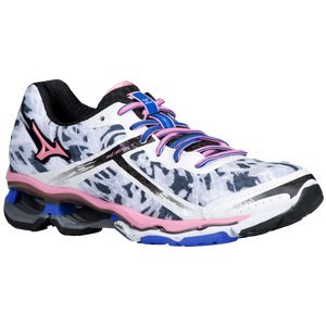 Mizuno Wave Creation 15 - Women's - White/Sea Pink/Dazzling Blue