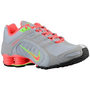 Nike Shox Navina SI - Women's - Grey/Atomic Red/Flash Lime