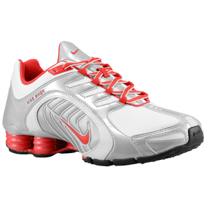 Nike Shox Navina SI - Women's - White/Hyper Red/Metallic Platinum