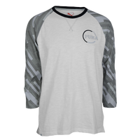 PUMA Clash Raglan T-Shirt - Men's - White / Grey