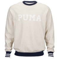 PUMA Clash Sweat Crew - Men's - Grey / Black