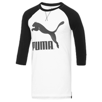 PUMA Xlong Raglan - Men's - White / Black
