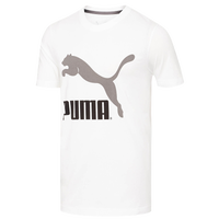 PUMA Archive Logo T-Shirt - Men's - White / Grey